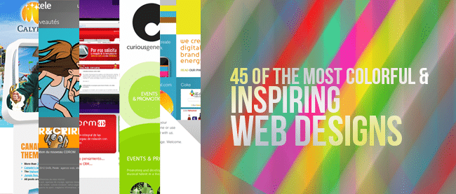 45 of The Most Colorful and Inspiring Web Designs