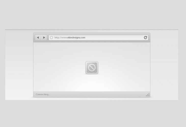 Browser Chrome Interface