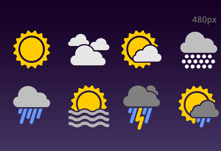 Android: Weather Icons