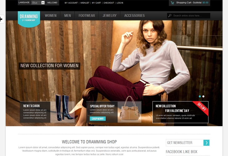 50 Best Responsive Magento Themes for 2013
