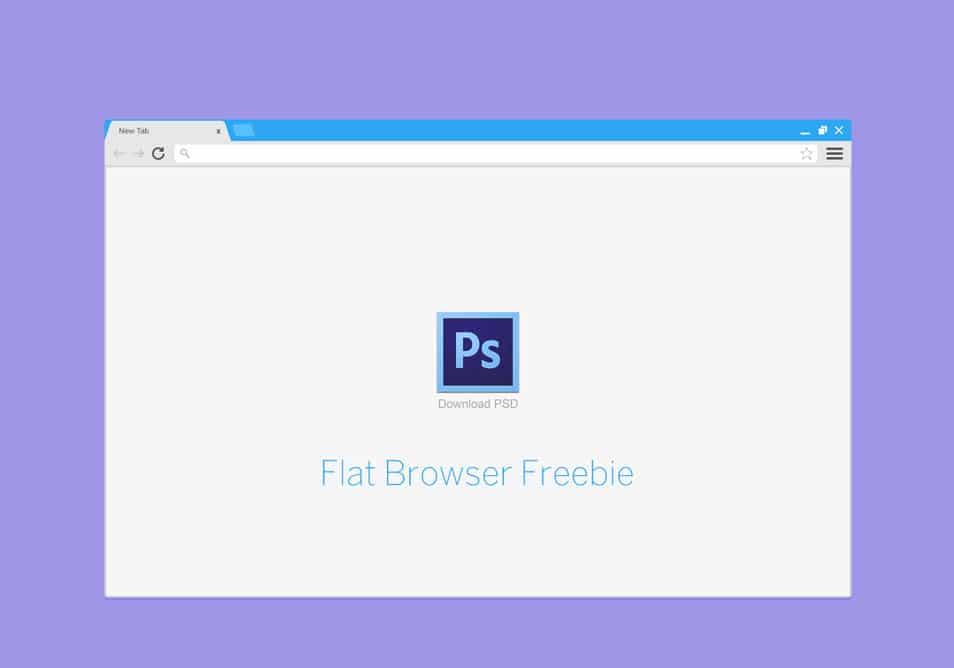 20 Free Web Browser Frame PSD Templates
