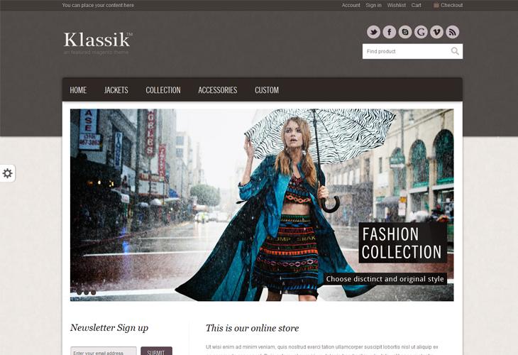 Klassik - cssauthor.com