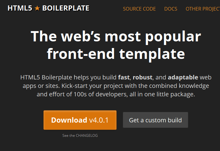 The Official Guide to HTML5 Boilerplate