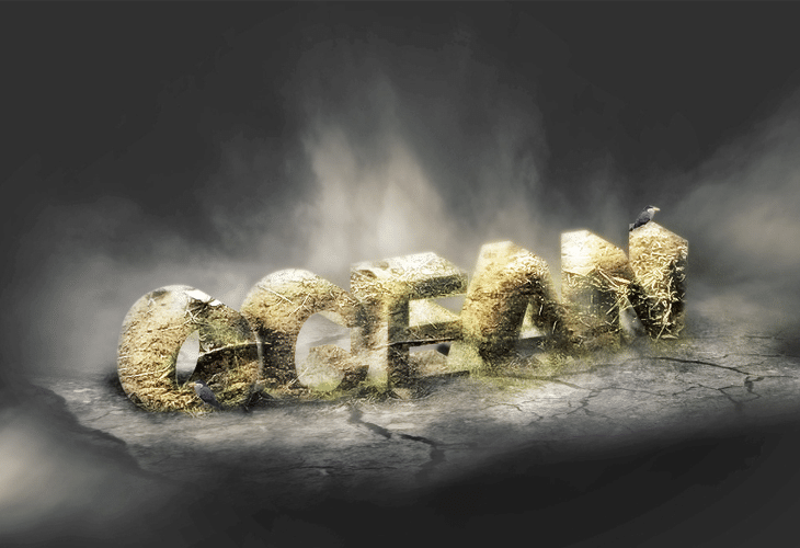 3D Typography with Advanced Texturing and Lighting Effect