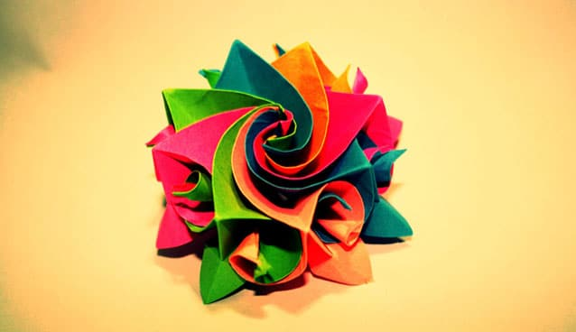 Exhibition Stand Freebies : Beautiful examples of origami artworks