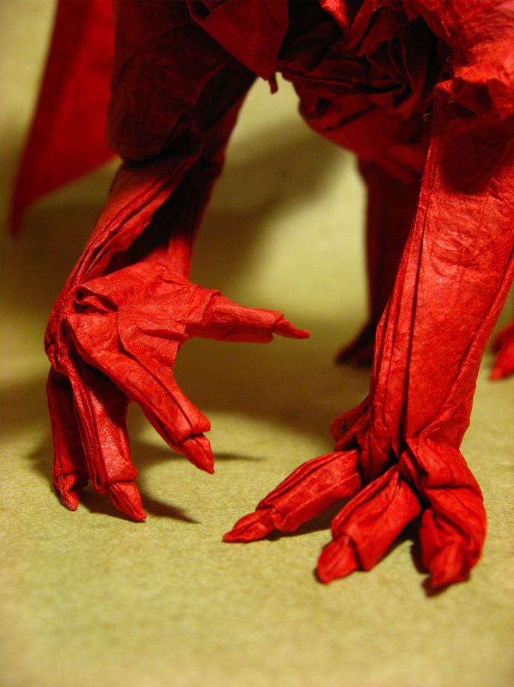 40 beautiful examples of origami artworks
