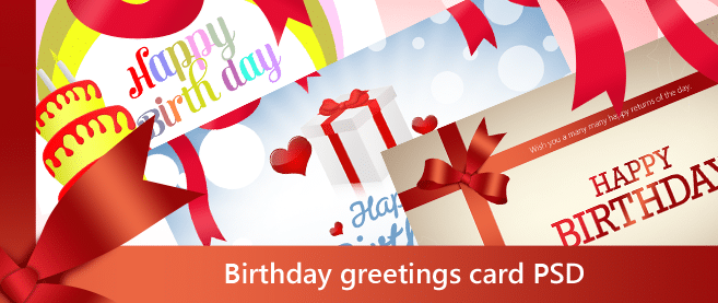 beautiful birthday greetings card psd for free download freebie no 27 beautiful birthday greetings card psd