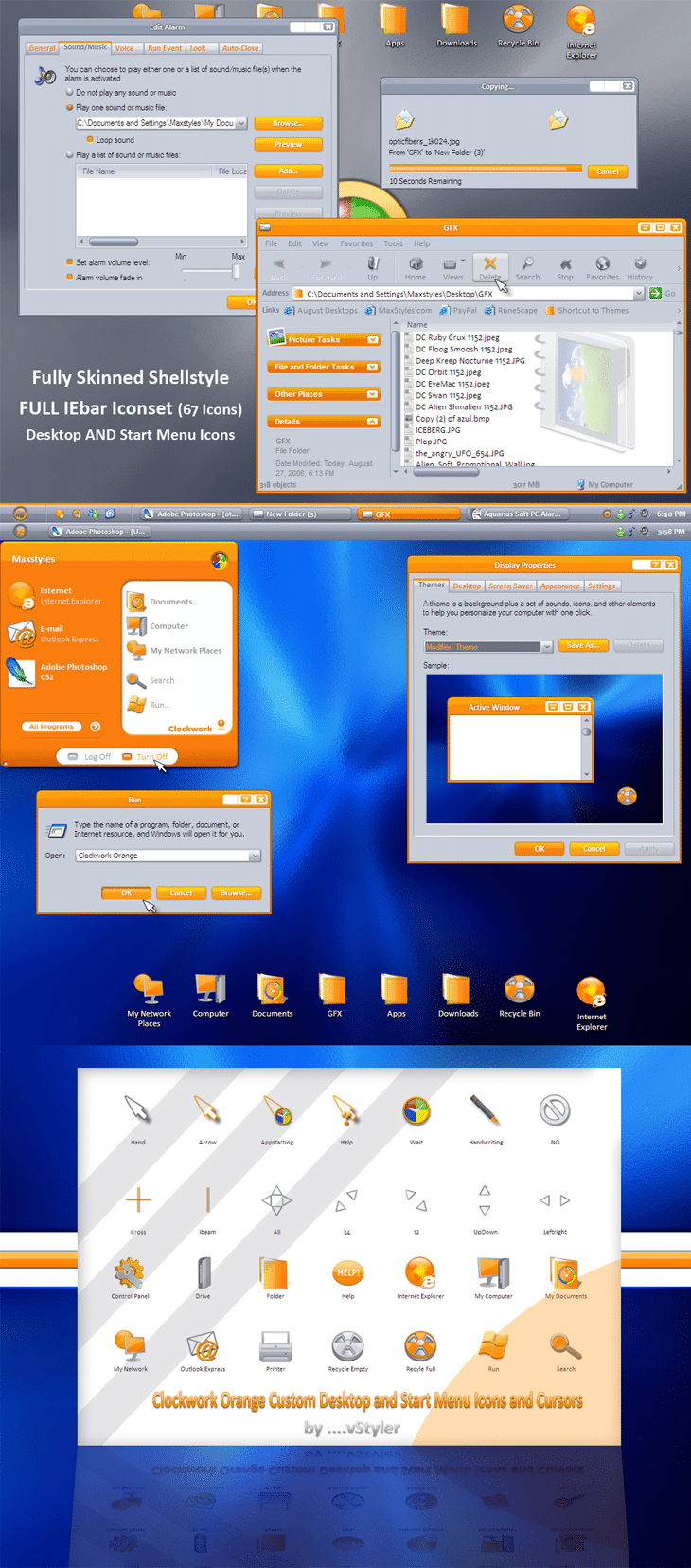Clock Work Orange Gui Kit