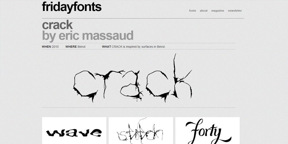 Friday Fonts