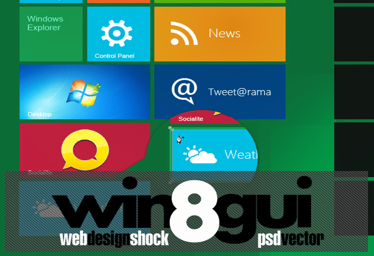 Windows 8 GUI Theme