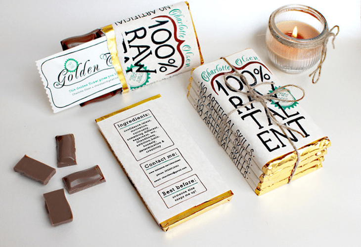 100 RAW TALENT Chocolate Package