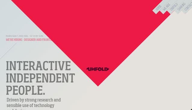 20 Inspirational Examples Of Diagonal Website Design