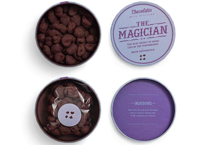 Chocolates with attitude 2012