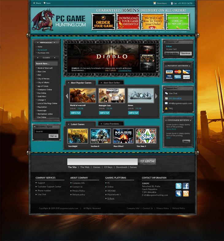Game Website