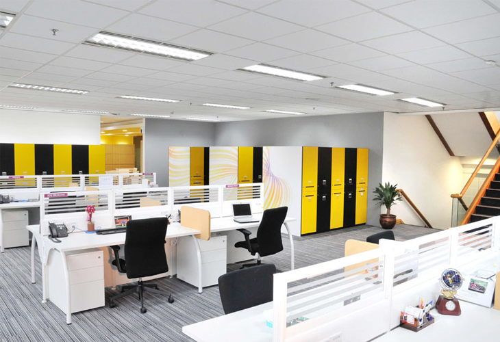 Best examples of creative inspiring office designs for Office design examples