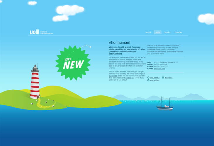 Websites With Vector Landscapes