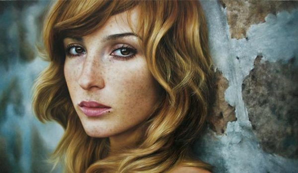 20 Explosive Colorful Oil Painting Portraits