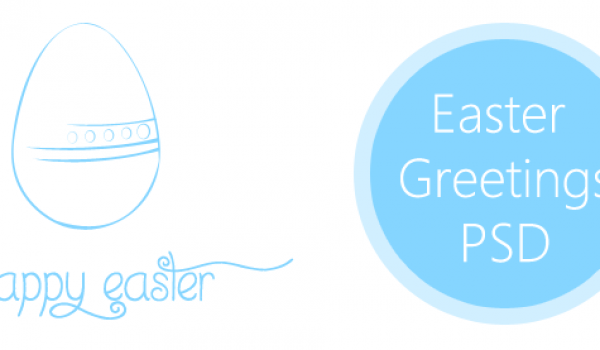 2013 Easter Greetings PSD for Free Download - cssauthor.com