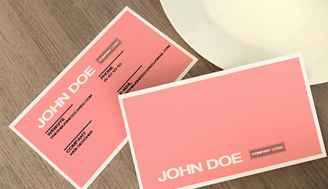 30 beautiful business card design templates cheaphphosting Image collections