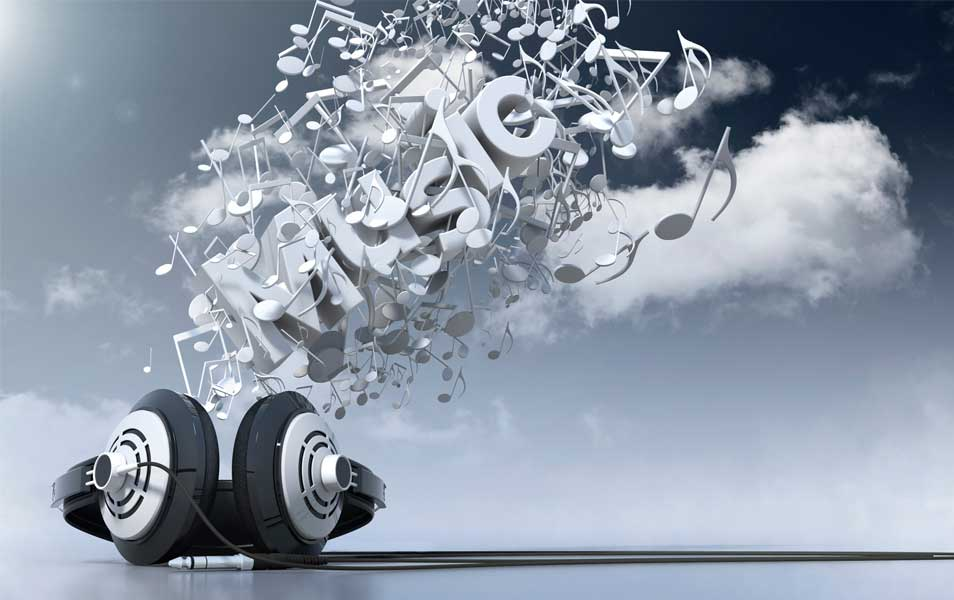 3D Music Wallpaper