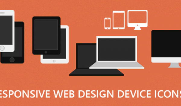 Responsive Web Design Devices Icon PSD - cssauthor.com