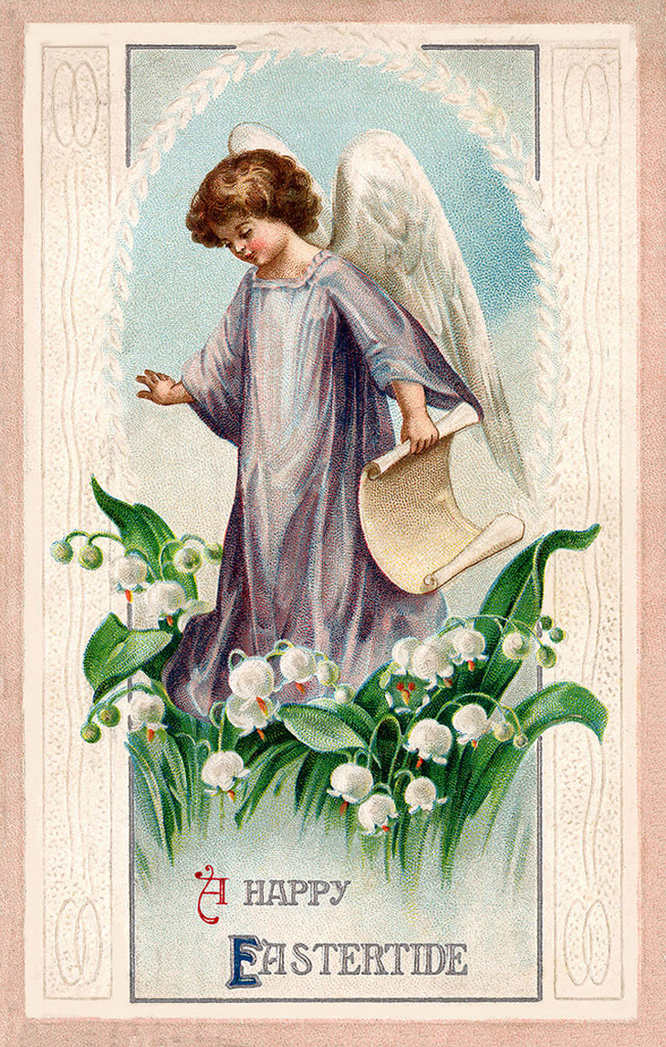 Religious Vintage Easter post cards 1900s Europe