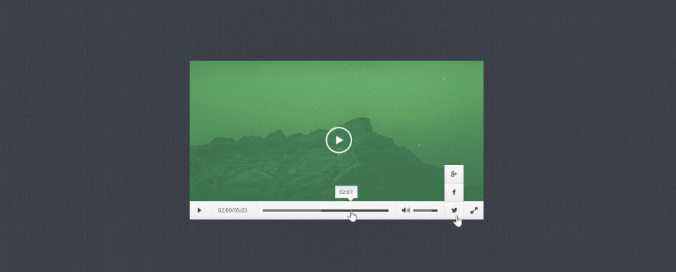 Video Player PSD