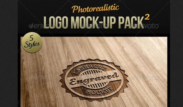 20 Best Photorealistic Logo Mockup Pack