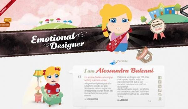 A Showcase Of Cartoons In Web Design