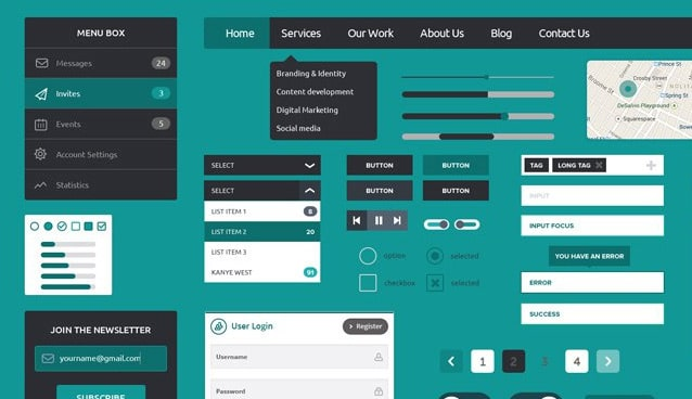 Best Fonts For Flat Ui Design