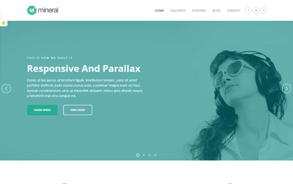 Mineral - Responsive Multi-Purpose WordPress Theme
