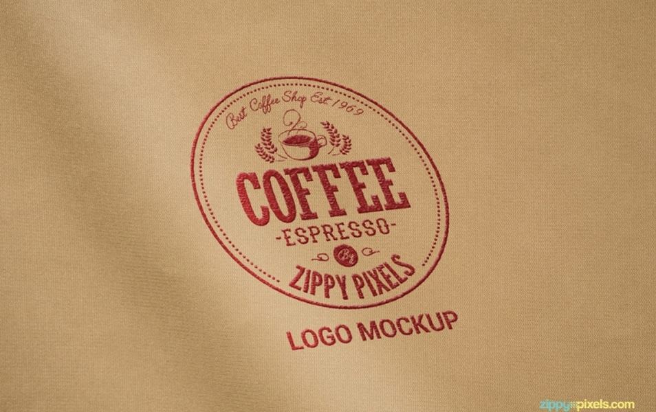 5 Free Logo Mockup Collection