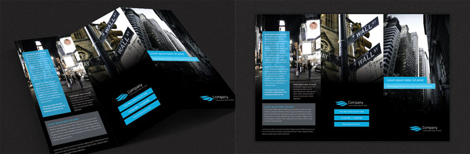 Free Modern TriFold Brochure Design Template