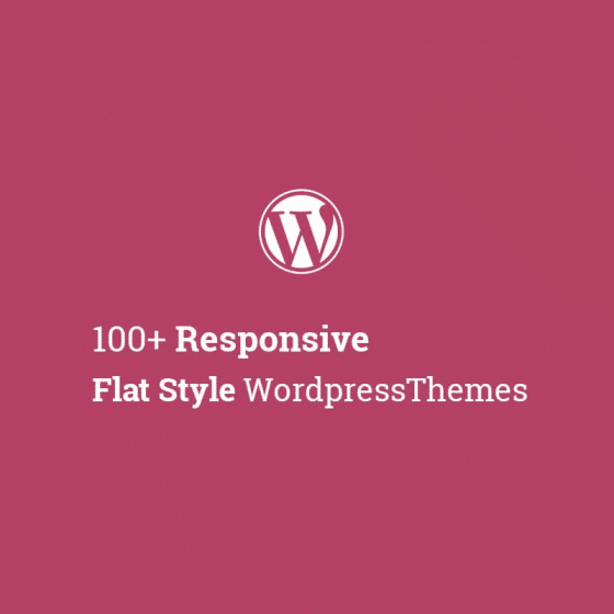 Responsive Flat Style WordPress Themes Latest Collection