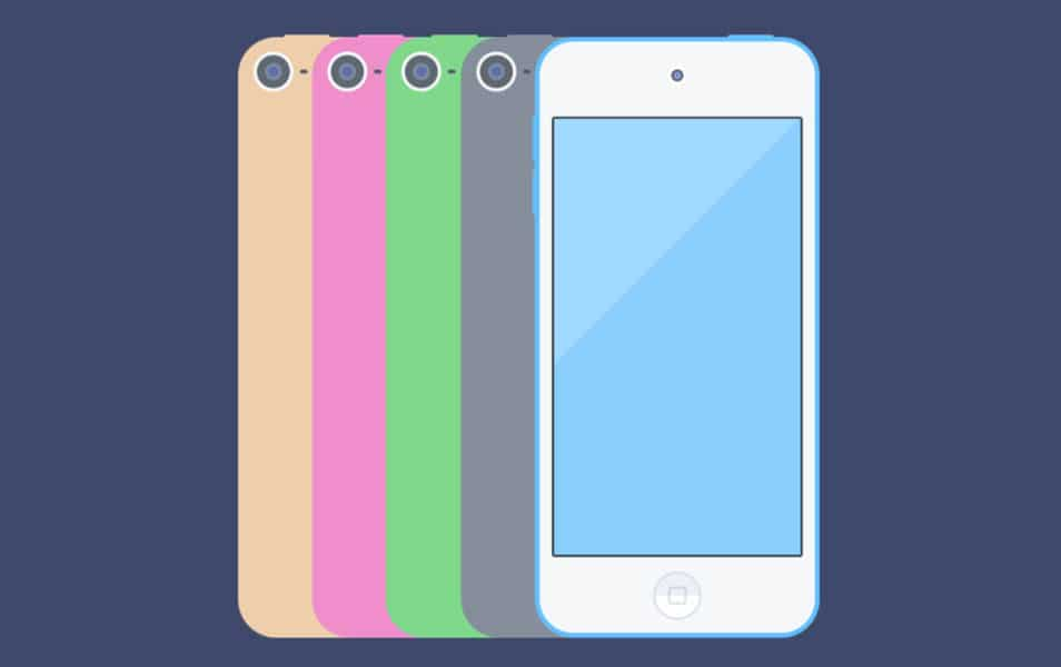 iPod Touch Mockup