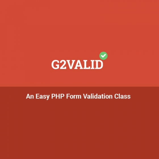 An Easy PHP Form Validation Class