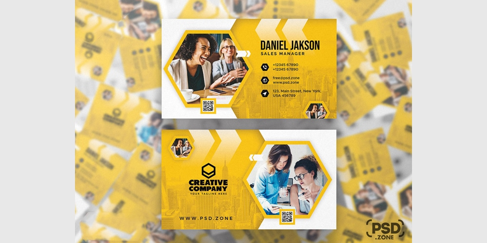 Awesome Creative Business Card Template