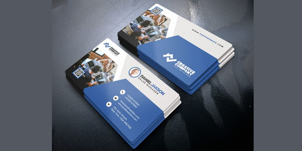 Best Corporate Business Card Design PSD