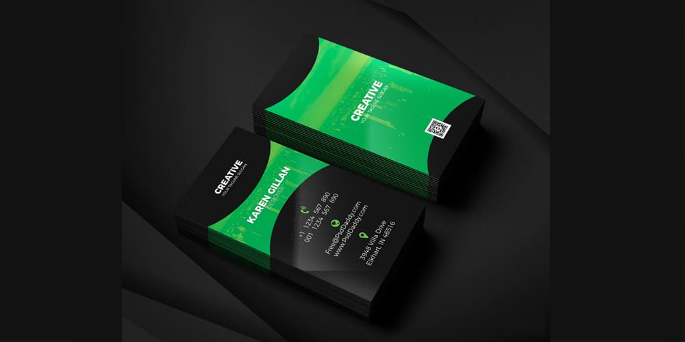 100 free business cards psd the best of free business cards business card template psd cheaphphosting Image collections