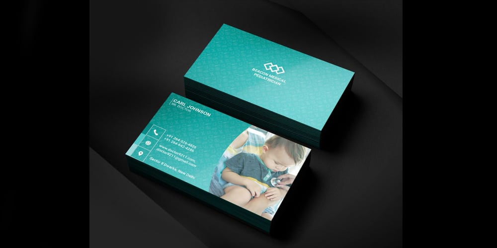 Business Card for Pediatrician