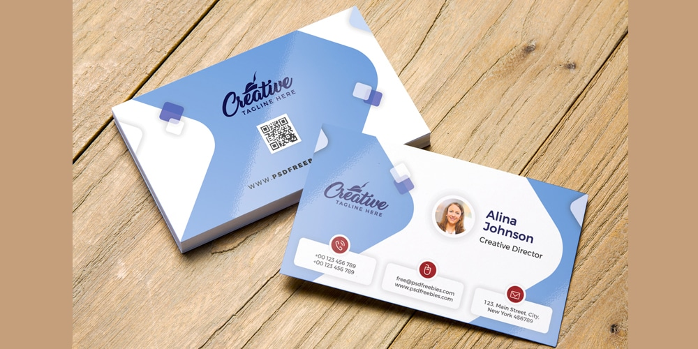 100 free business cards psd a the best of free business cards
