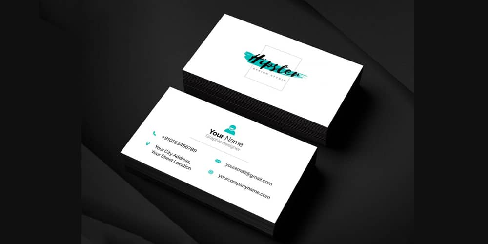 Clean Business Card PSD