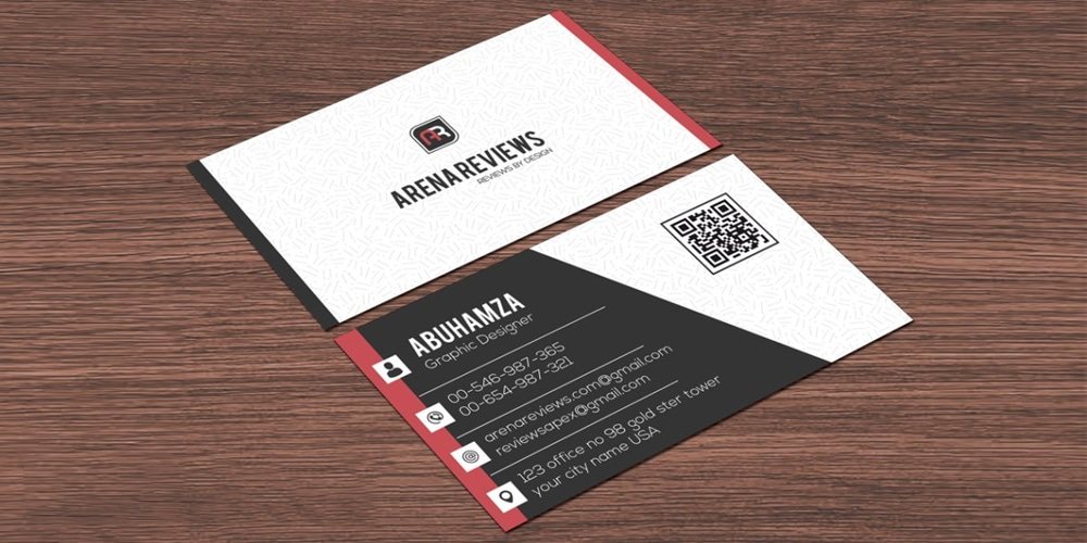 100 free business cards psd the best of free business cards clean white corporate modern business card template psd reheart Image collections
