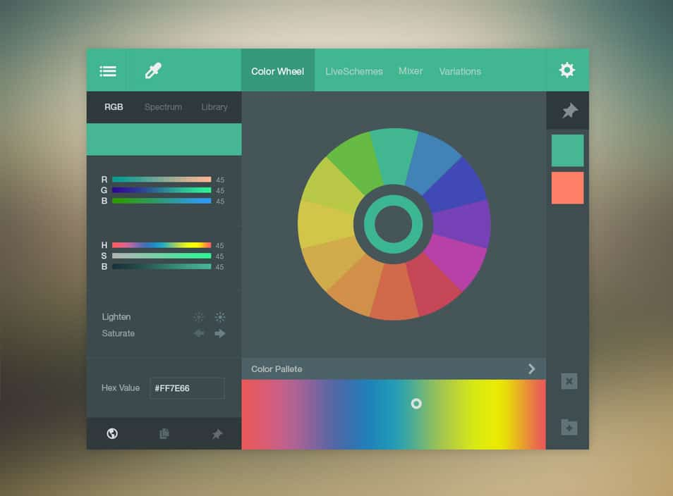 Color Picker UI (FREE PSD)