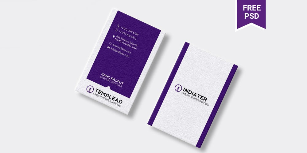 Cool Business Card Templates PSD