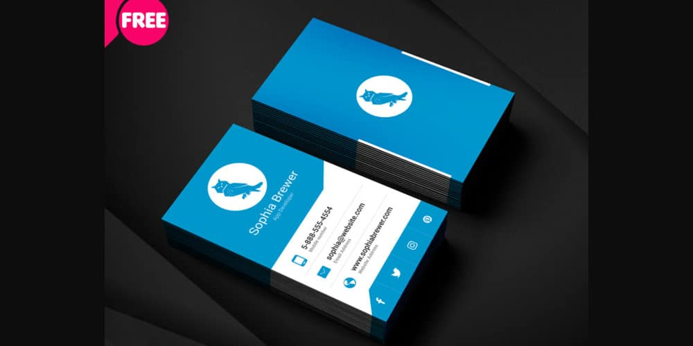 Free Business Cards PSD The Best Of Free Business Cards - Business card templates psd
