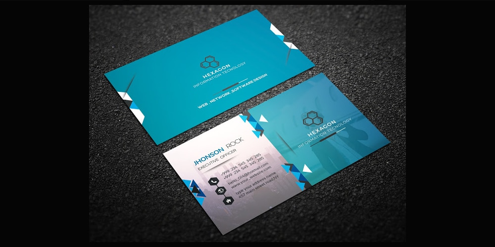 100 free business cards psd the best of free business cards corporate business card template psd fbccfo Images