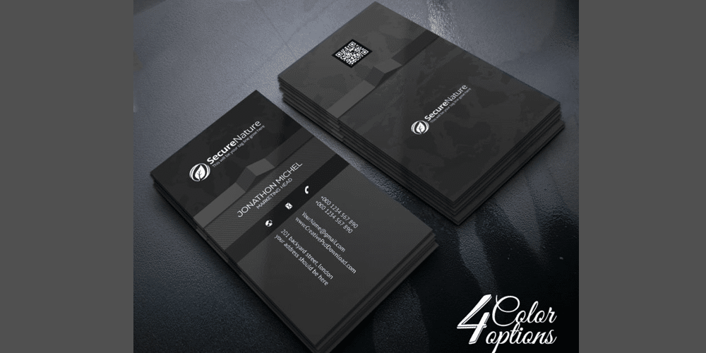 Corporate Creative Business Card PSD
