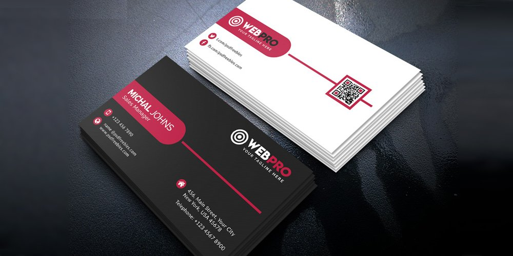 Corporate Modern Business Card PSD
