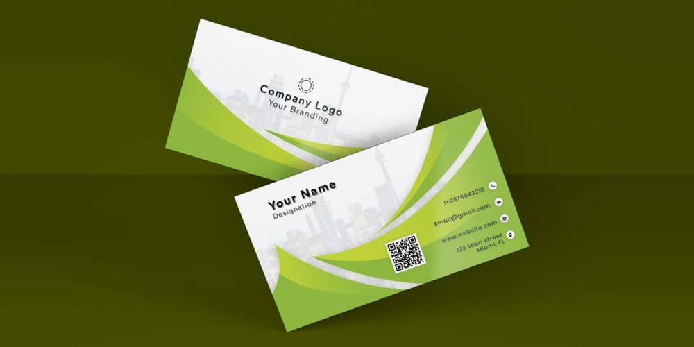 Corporate Premium Business Card PSD